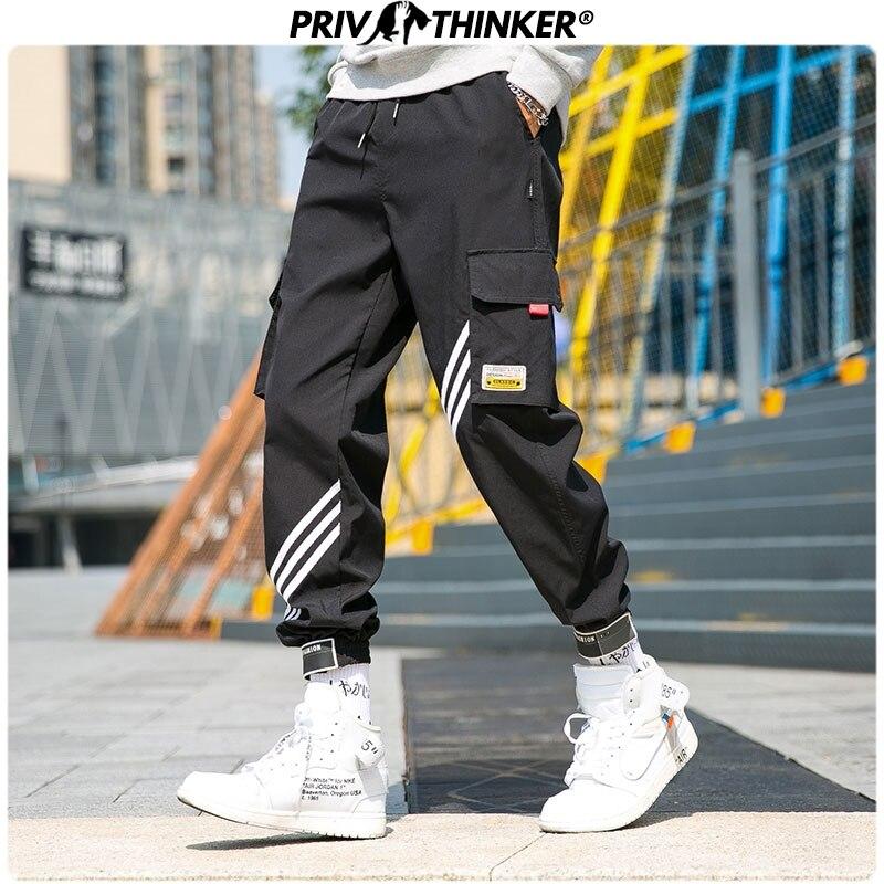 Privathinker Men's Autumn Ankle-Length Harem Joggers Men Harajuku Sweatpant Hip Hop Trousers Male 2019 Fashion 5XL Loose Pants
