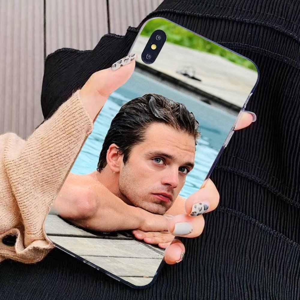실리콘 케이스 Sebastian Stan Bucky Barnes For iPhone 11 Pro 4 4S 5 5S SE 5C 6 6S 7 8X10 XR XS Plus Max For iPod Touch