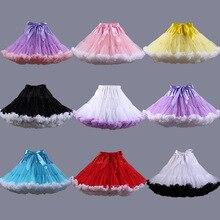 Tutu Underskirt Petticoat Short Jupon Rockabilly Wedding Women Party In-Stock Multi-Color