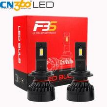 CN360 2PCS H7 LED Headlight Canbus Error Free Auto Bulb 45W high Power 10000Lumen Super Bright Light 12V Universal for All Cars