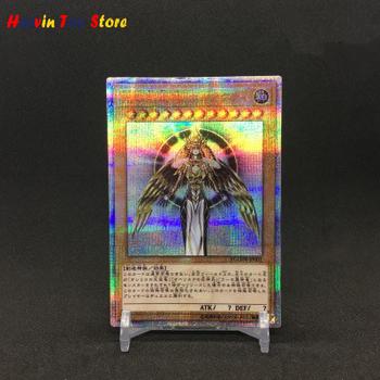 Yu Gi Oh DIY bóg światła tworzenie kolorowe zabawki Hobby Hobby kolekcje kolekcja gier Anime karty tanie i dobre opinie CN (pochodzenie) Dorośli Chiny certyfikat (3C) Fantasy i sci-fi