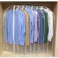 Прозрачный моющийся шкаф для одежды, сумка для одежды, подвесной чехол от пыли для одежды, платье, костюм, пальто, сумки для хранения, 100%