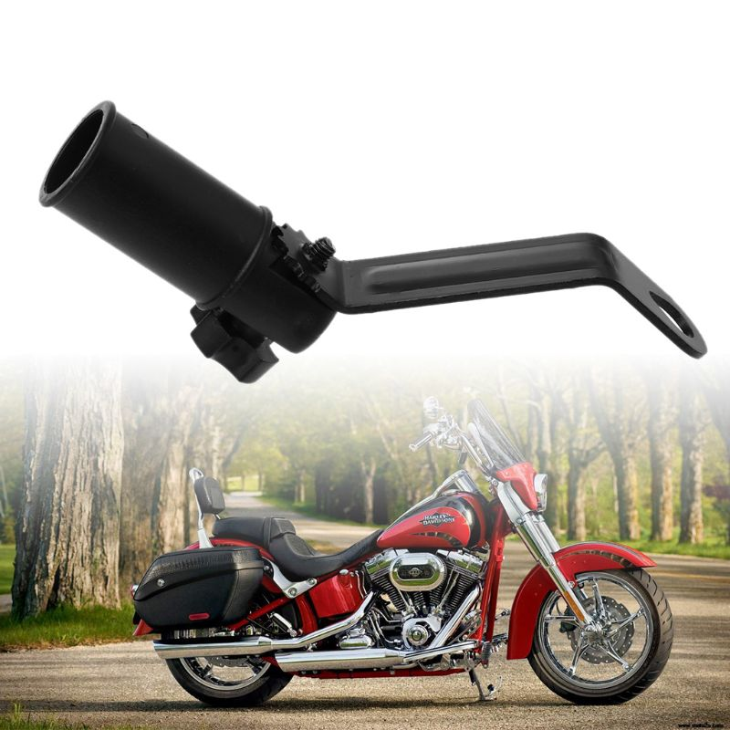 Rearview Mirror Mount Extender Bracket Holder Clamp Bar Phone GPS Holder Levers Adjustable Motorcycle ATV Rear View Accessories