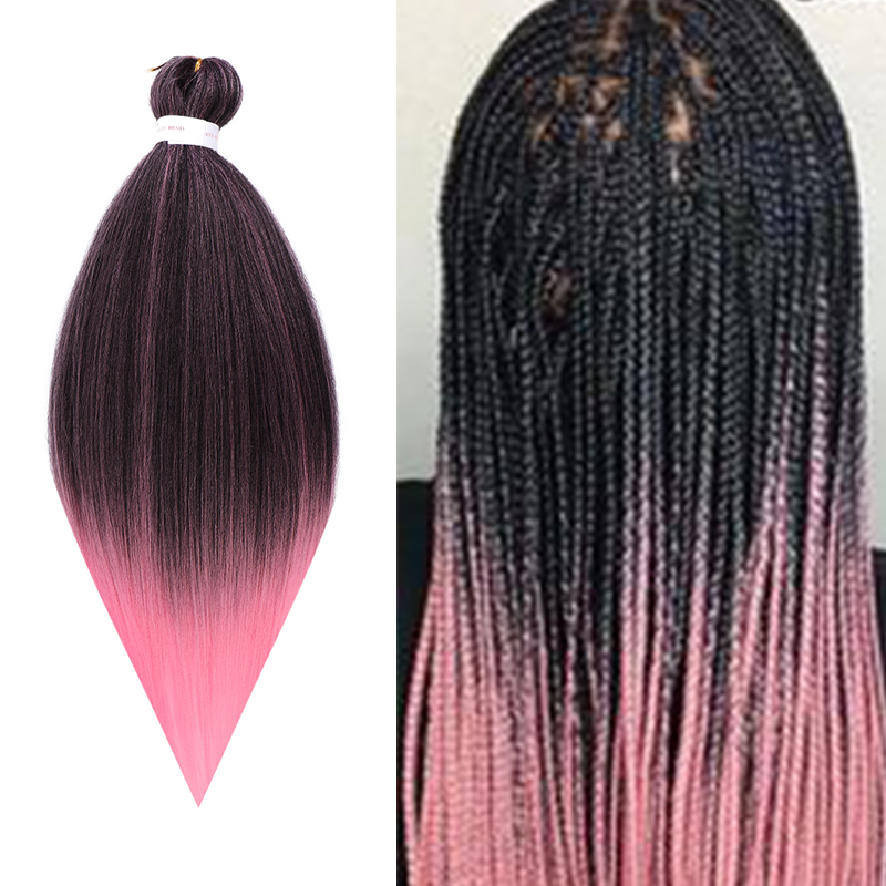 XUANGUANG African Crochet Hair Giant Braid Hair Extension Crochet Hair System Braid Low Easy To Weave