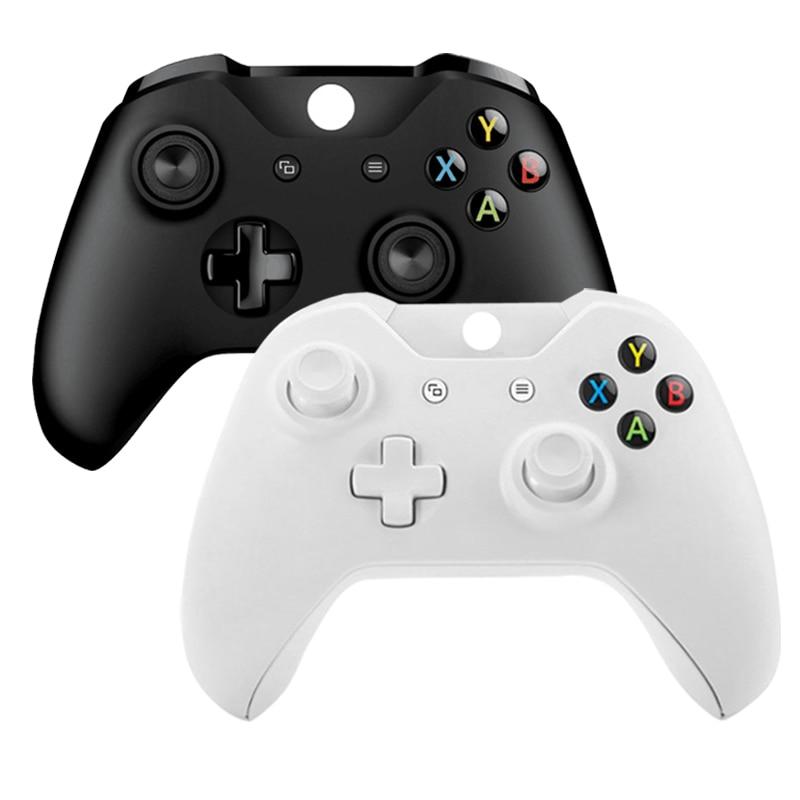 Dla Xbox jeden kontroler bezprzewodowy dla konsoli Xbox One PC Joypad Joystick do X box One Slim Gamepad w Gamepady od Elektronika użytkowa na  Grupa 1