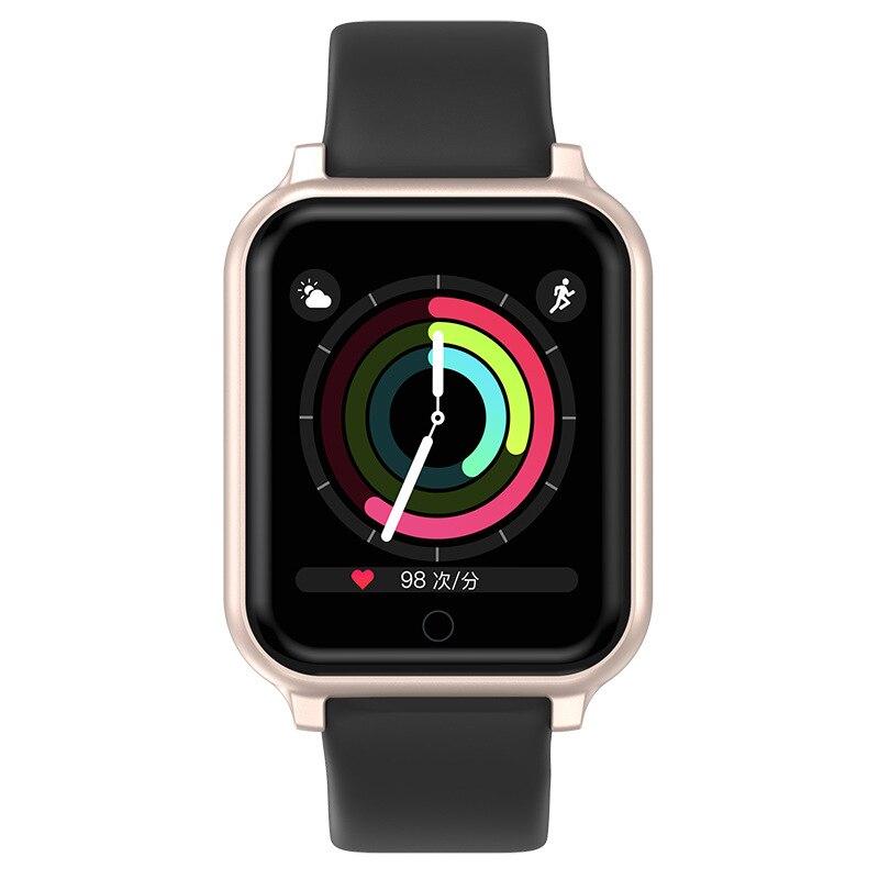 T70 montres intelligentes sport étanche pour Xiomi Smartwatch moniteur de fréquence cardiaque pression artérielle pour les femmes hommes pk B58 B57 Plus Smart