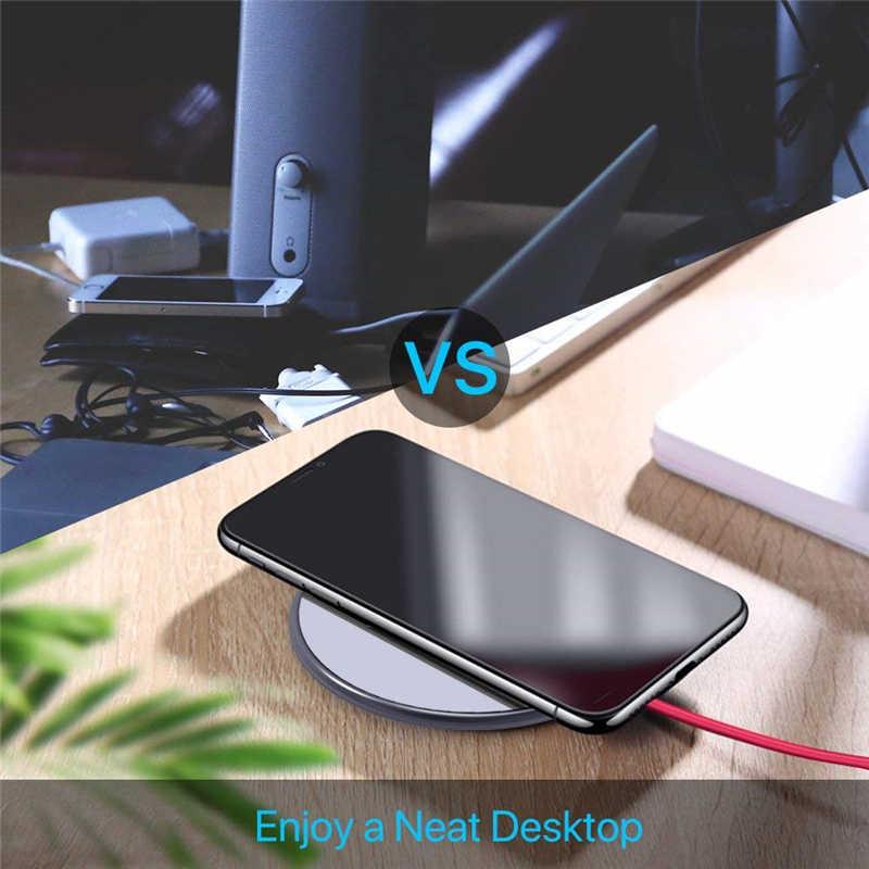 Legierung Ultra Slim Schnelle Drahtlose Ladegerät Für Doogee S90 Schnell Qi Chargeur Induktion für Oukitel WP1/Koolnee K3 Ladegerät halter