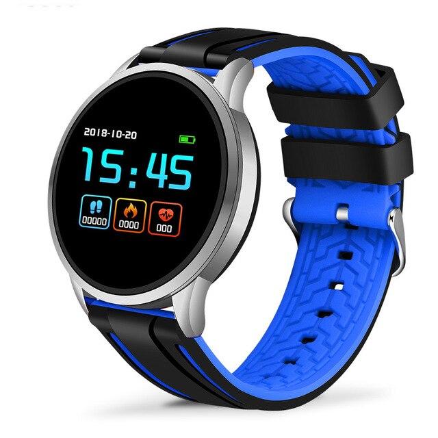 LIGE Smart Watch Men Sport Smart IP67 Waterproof Fitness Tracker Blood Pressure Heart Rate Monitor Pedometer Active Bracelet+box