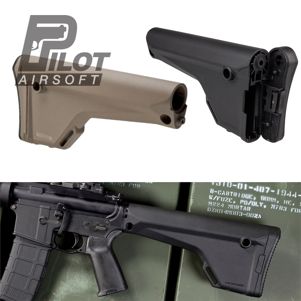 Pilot Tactical Airsoft MP MOE Rifle Stock For AR15/M4/M16 AEG Upgraded Accessories Wargame