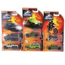 Boîte de match voiture JURASSIC WORLD BENZ G63 AMG HUMVEE INGEN, voiture en métal moulé, collection de jouets pour enfants, idée cadeau, 1/64, 2019