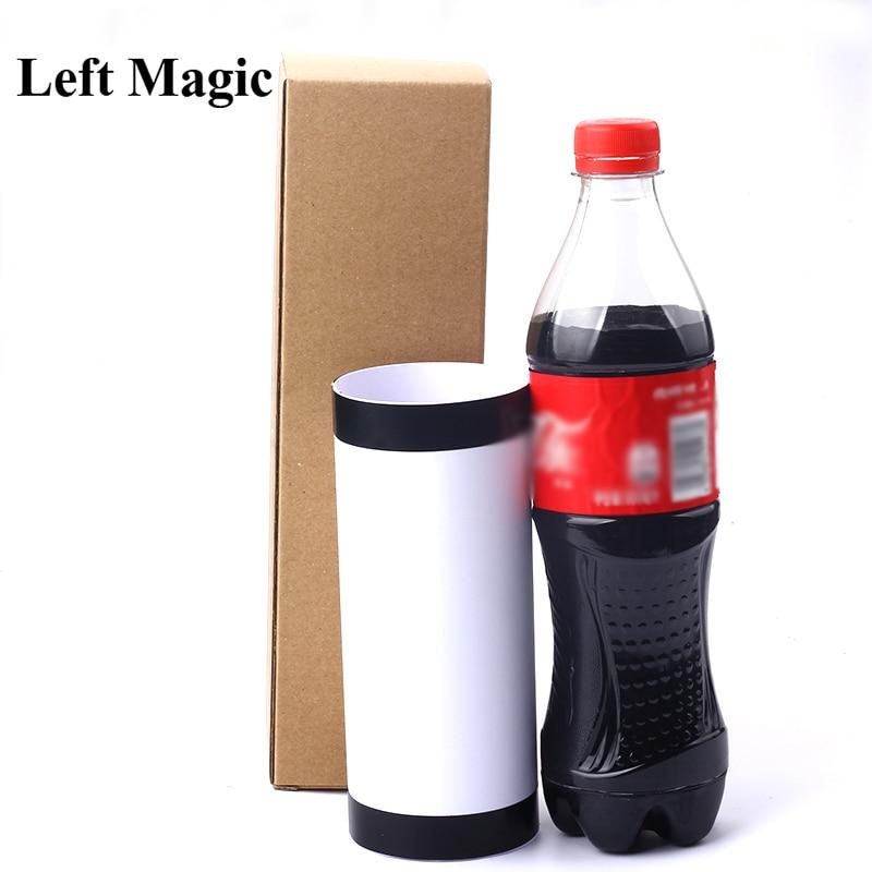 Nueva botella de Cola que desaparece, trucos de magia que desaparece Cole/Coke, accesorios mágicos para escenario, botella, magia, primer plano, ilusiones, accesorios