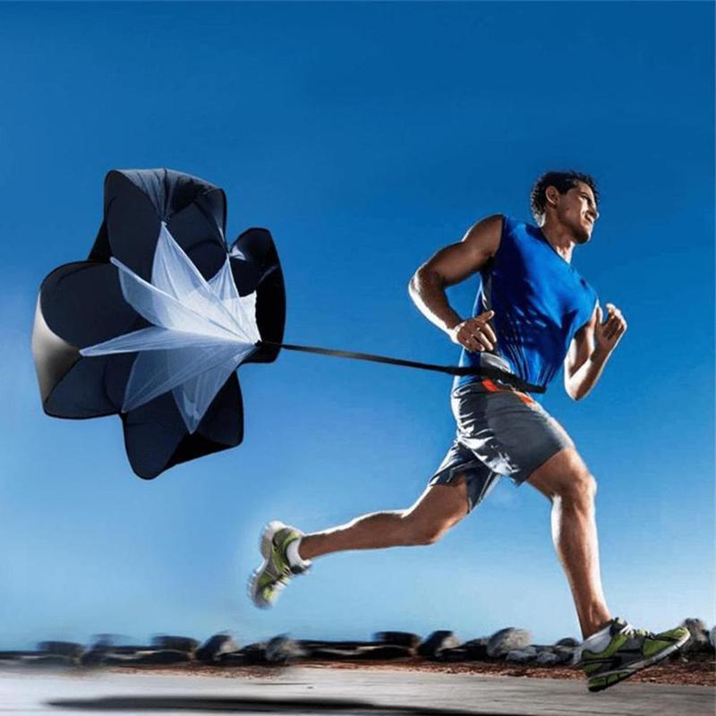 4 Colors Training Resistance Umbrella Speed Parachute Strength Training Umbrella Running Exerciser Resistance Bands Drag