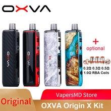 OXVA – Kit de vapotage original Pod Mod, avec batterie 18650, dosette 3.2ml en unicones, pour vaporisateur DL/MTL