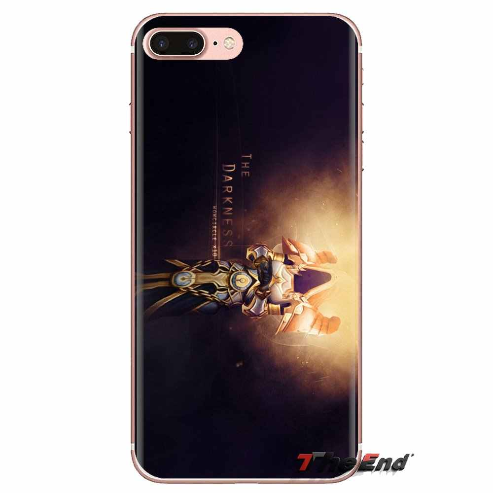 Untuk Xiao Mi Mi 6 Mi 6 A1 Max Mi X 2 5X 6X Merah Mi Note 5 5A 4X 4A A4 4 3 Plus 3 Pro Dunia Warcrafts Dukun Imam Silicone Cover Tas