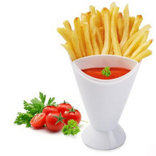 Картофель фри чип-конус Салат чаша для макания кухня ресторан Картофель инструмент посуда Ассорти соус для кетчупа джема Dip чаша# T2