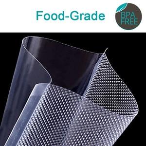 Image 2 - 100 adet mutfak gıda vakumlama makinesi çanta Sous Vide gıda tasarrufu saklama vakum paketleme torbaları mutfak aksesuarları BPA içermeyen