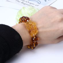 Gem Stone Wealth Pi Xiu Bracelet Attract Wealth and Good Luck Bracelet Jewerly For Unisex feng shui pi xiu charm red string bracelet color change kabbalah braided mood bracelets attract wealth good luck jewerly