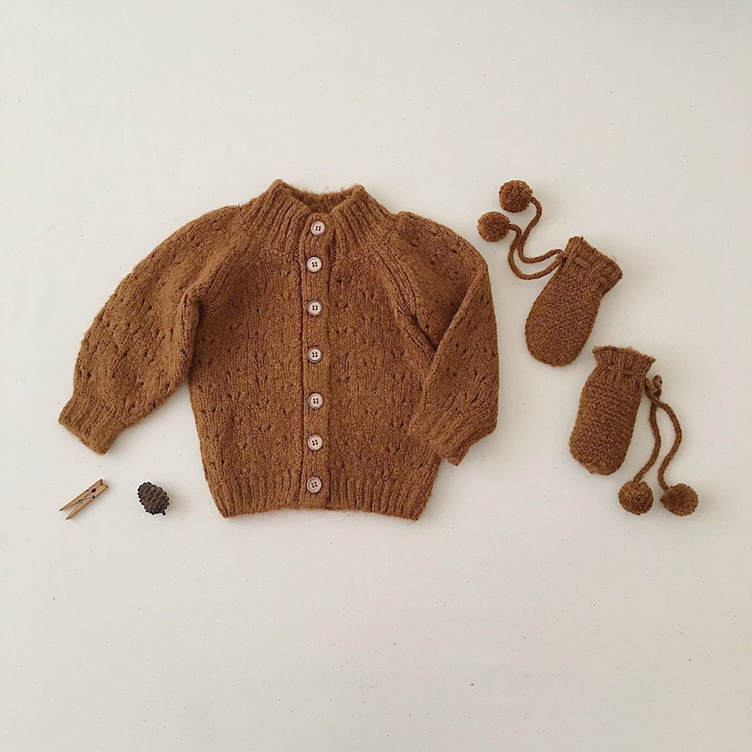 Kids Wool Sweaters 2020 RC Brand New Autumn Winter Boys Girls Fashion Knit Cardigan Baby Children Cotton Outwear Tops Clothes 5