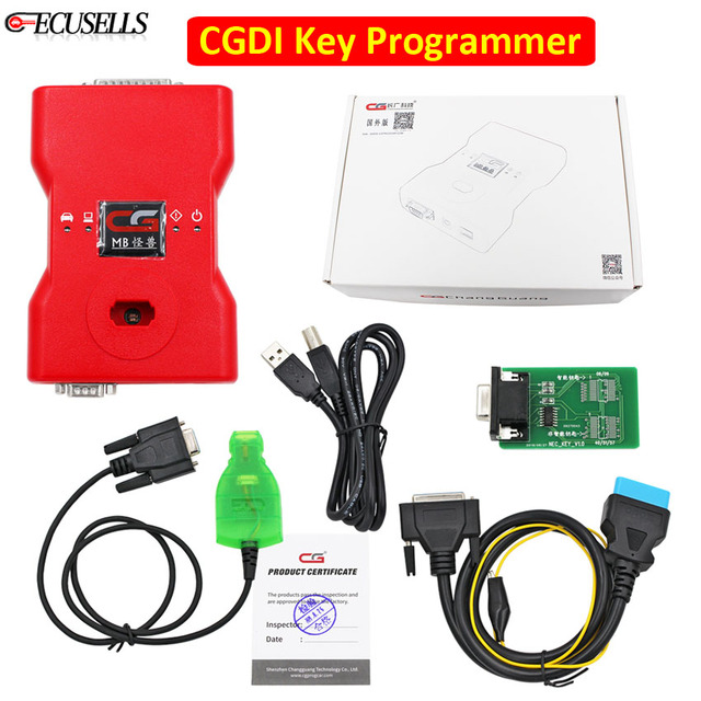 CGDI Prog MB For Benz Fastest Add CGDI MB Auto Key Programmer Key Tool Support All Key Lost Support Online Password Calculation