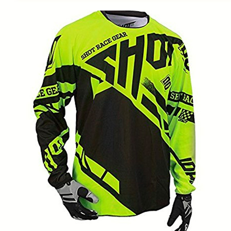 Mtb Jersey Moto Long-Sleeve Maillot-Ciclismo Clycling Mountain-Spexcec Dh Off-Road Hombre