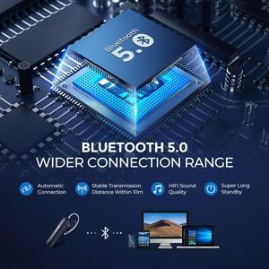 Image 3 - Mpow em17 무선 이어폰 블루투스 4.2 이어폰 bussiness 스마트 폰용 듀얼 마이크 handsfree 프리가있는 15hrs 음악 시간 이어폰