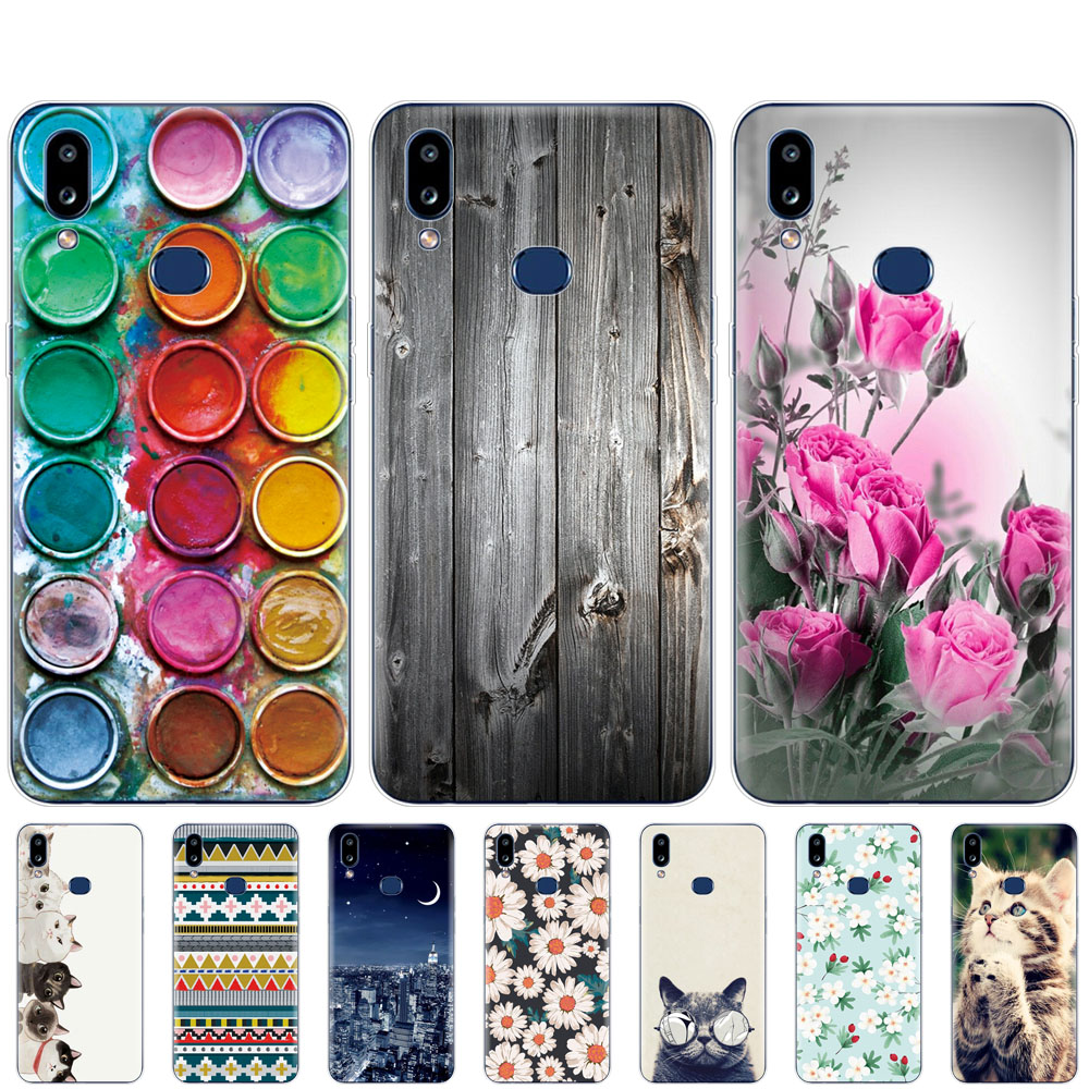 silicon Case For Samsung A10S Case Soft phone Back Cover For Samsung Galaxy A10S GalaxyA10S A 10S <font><b>A107F</b></font> bumper Skin image