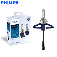 Philips LED 9012 H1R2 Ultinon Essential LED Car Bulbs 6000K Bright White Light Genuine Auto Head Lamps 11012UE X2, Pair(China)