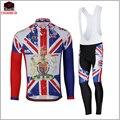 ZM Великобритания Национальный флаг Велоспорт Джерси брюки весна осень стиль Mtb велосипед велосипедная одежда Ciclismo велосипед мужская одежд...