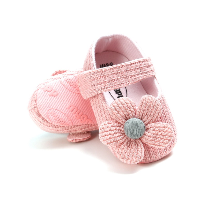Autumn Baby Girl Anti-Slip Casual Walking Shoes Flower Sneakers Soft Soled First Walkers New Arrival