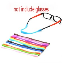1PC Hot Silicone Eyeglasses Strap Children Glasses Safety Band Strap Retainer Sunglasses Band Cord Holder Sports Glasses Rope