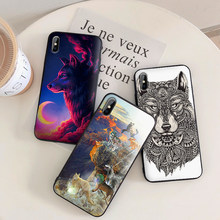 Série de tv teen lobo caso da equipe para iphone xs max xr silicone macio capa para iphone x xs 6 s 7 8 plus coque funda(China)