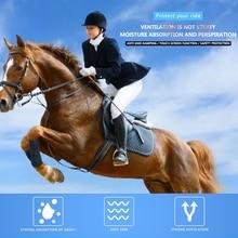Horse Riding Mitten Anti-Slipping Portable Durable Adjustable Baseball Softball Sports Gloves Horseback Accessories Riding Glove