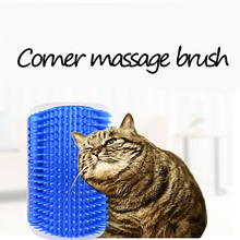 Pet Product For Cat Self Groomer Wall Brush Corner Cat Massage Self Groomer Comb Brush With Catnip Cat Rubs with a Tickling Comb pet cat wall corner hair massager cat scratching itchy scratching cat cat comb massage corner brush comb