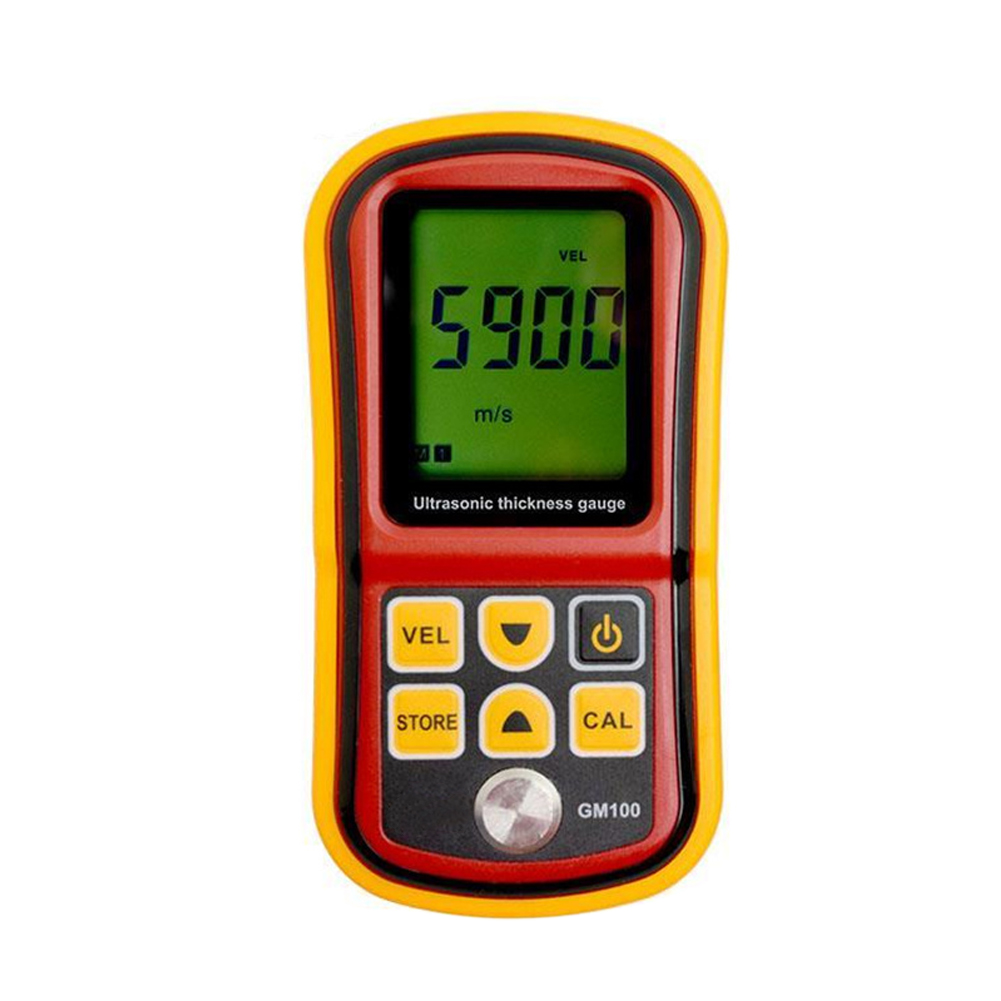 Thickness Gauge Metal Testering Electronic Home Portable LCD Display Sound Digital Detector Ultrasonic Handheld Instruments