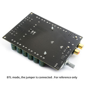 Image 3 - UNISIAN  TDA7498E class D audio 2.0 Channel  Amplifier board High Power Hifi BTL mono 220w Amplifiers for  home sound systems