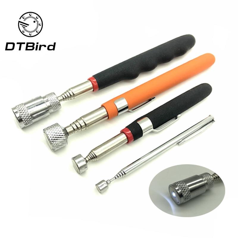 Mini Portable Telescopic Magnetic Suction Rod Portable Tool Capacity Pickup Nut Bolt Telescopic Pickup Rod