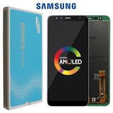 Orijinal 6.0 Samsung Galaxy J6 + J610 J610F J610FN ekran LCD ekran değiştirme için Samsung J6 artı ekran