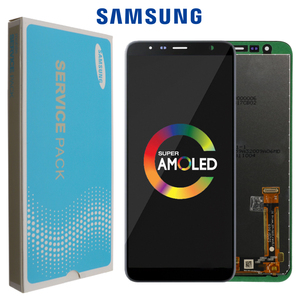 Image 1 - Pantalla LCD Original de 6,0 pulgadas para móvil, repuesto de pantalla LCD para Samsung Galaxy J6 + J610 J610F J610FN