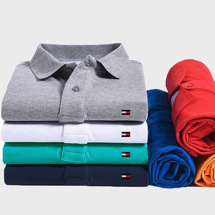 Мужская хлопковая рубашка-поло, фирменные летние рубашки, высокое качество, логотип музыканта, винный, синий, серый, красный, темно-синий