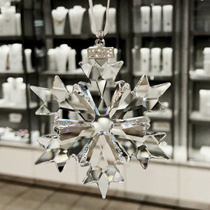 Image 3 - Car hanging accessories transparent crystal christmas car decoration ornament car accessories for girls