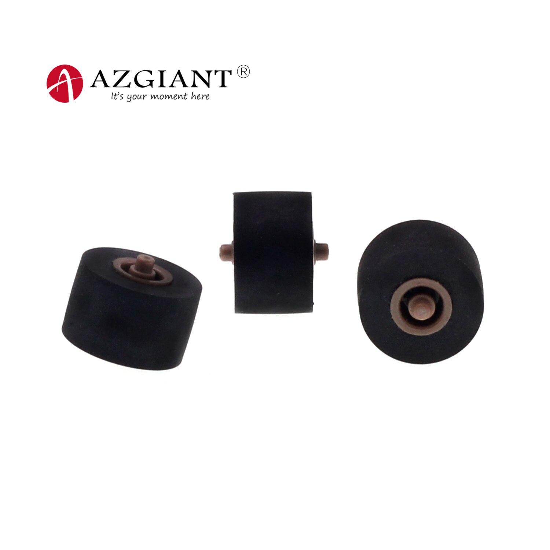 3pcs 10.2*6.5*1.5mm Car Retractor Press Belt Pulley Deck Audio Pressure Recorder Press Cassette Deck Roller Tape Card Seat