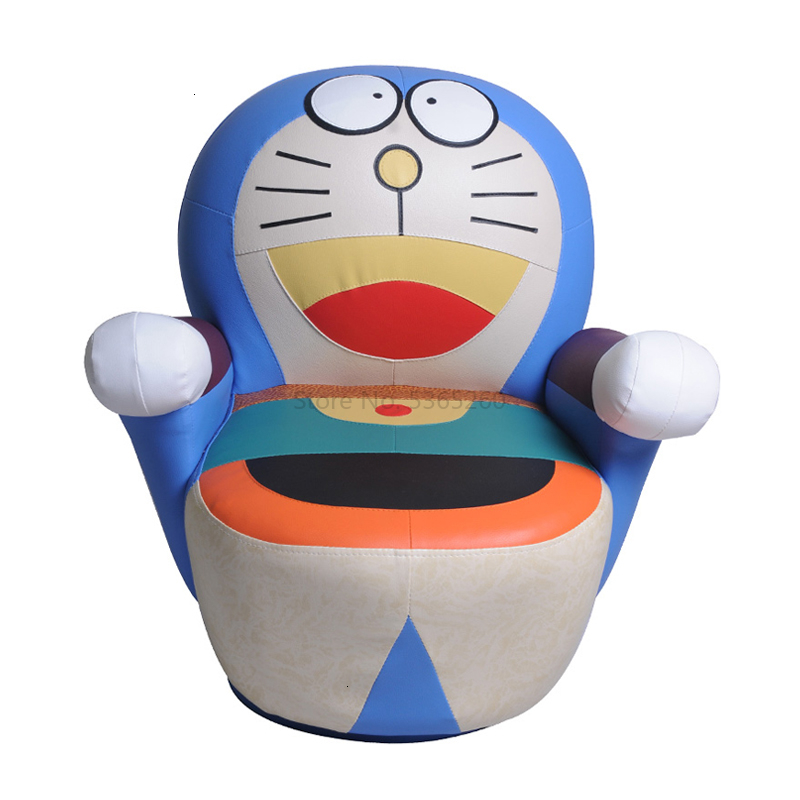 Jingle Cat Children Sofa Cartoon Duo La A Dream Child Read Small Baby Sofa Lovely Bean Bag Zitzak Kids Bedroom One Seat