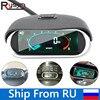 Di alta Qualità Auto Universale Auto LCD Digitale Del Motore Contagiri Tach Gauge Auto Moto rpm meter 12/24v Nave dalla Russia-in Tachimetri da Automobili e motocicli su