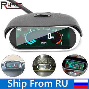 High Quality Universal Auto Car LCD Tachometer Digital Engine Tach Gauge Car Motorcycle rpm meter 12/24v Ship From Russia(China)