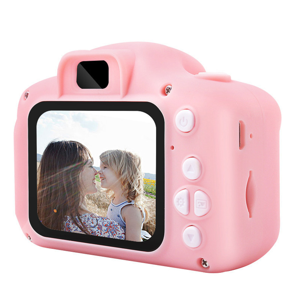 New Mini Children's Toy Camera Digital Camera 8 Million High-definition Silicone Multi-language Indoor Toys Birthday Gift 2019