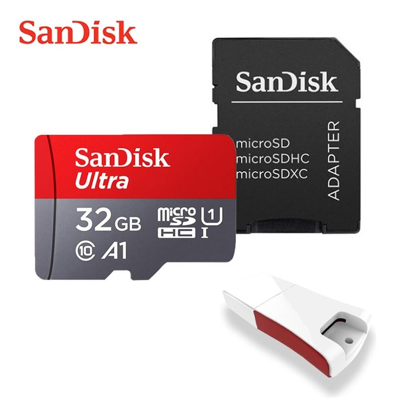 SanDisk Ultra Memory Card 400GB 256GB 200GB 128GB 64GB 98MB/S 32GB 16 GB Micro sd card Class10 UHS-3 A1 flash card SD/TF Microsd