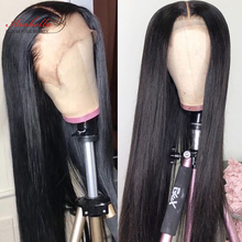 Brazilian Straight Lace Front Wig Pre Plucked With Baby Hair Arabella Remy 100% Human Hair 13x4 Lace Frontal Wig Closure Wig
