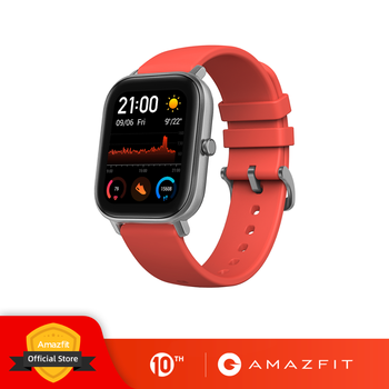 Global Version Amazfit GTS Smart Watch 5ATM Waterproof Swimming Smartwatch NEW 14Days Battery Editible Widgets for Xiaomi