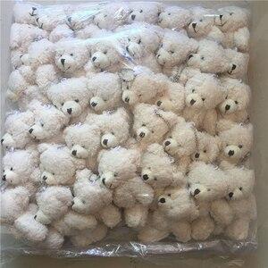 Image 1 - Kawaii קטן משותף טדי דובים ממולא בפלאש עם שרשרת, 12CM צעצוע טדי דוב מיני דוב טד דובים בפלאש צעצועי מתנות