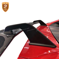 carbon fiber rear wing spoiler For Lamborghini Huracan LP610 LP580 retrofit vorsteiner style two